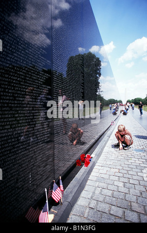 Vietnam Memorial - Stock Photo