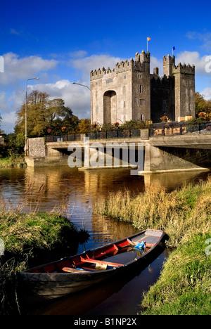 Bunratty Castle Co. Clare Ireland - Stock Photo