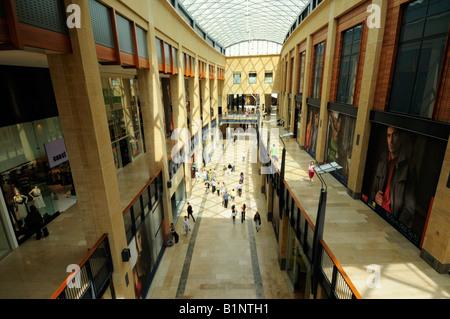 Grand Arcade Shopping Centre Cambridge England UK - Stock Photo