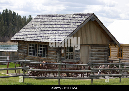 The 108 Heritage site on Hwy 37 British Columbia Canada. - Stock Photo