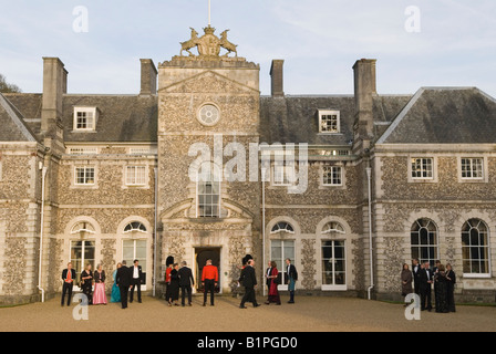 Country Mansion  Home Counties. Private party HOMER SYKES - Stock Photo