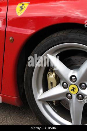 Ferrari F430 - Stock Photo