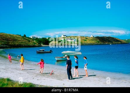 Hare/Heir Island, Co Cork, Ireland, Roaring Water Bay - Stock Photo
