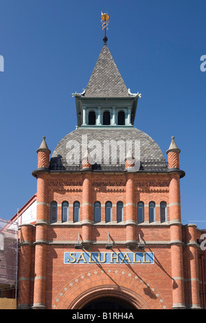 Saluhall market hall, Stockholm, Sweden, Scandinavia, Europe - Stock Photo