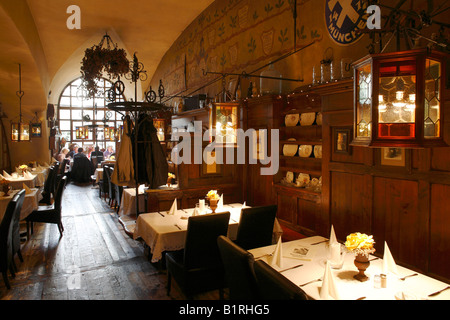 Hackerhaus restaurant, Sendlinger road, historic city centre, Munich, Bavaria, Germany, Europe - Stock Photo