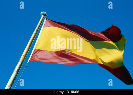 Flag, Spain - Stock Photo