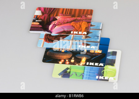 Ikea advertisement gift card stock photo 30367663 alamy for Coupon mobile ikea
