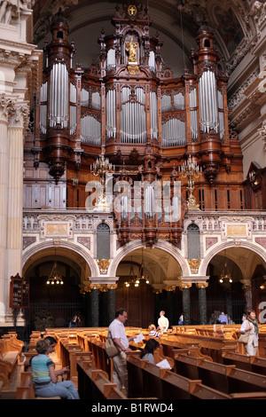Stueler Organ, Berliner Dom, Berlin Cathedral, Berlin, Germany, Europe - Stock Photo