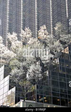 Trump Tower, 5th Avenue, Manhattan, New York City, USA - Stock Photo