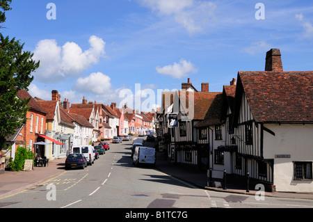 Lavenham, Suffolk, England, UK - Stock Photo
