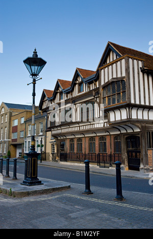 Tudor House Museum in Southampton Hampshire England - Stock Photo
