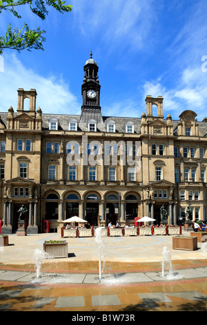 The Old Post Office, City Square, Leeds, West Yorkshire, England, UK. - Stock Photo