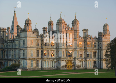 UK Lincolnshire Stamford Burghley House - Stock Photo
