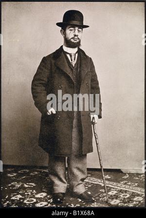 Henri Marie Raymond de Toulouse Lautrec Monfa, 1864 - 1901. French painter, printmaker, draftsman and illustrator. - Stock Photo