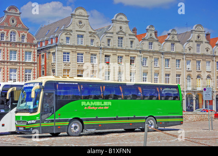 A Rambler Coach in Arras - Stock Photo