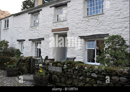 Yew Tree Farm bed and Breakfast Rosthwaite Borrowdale regularly visited by HRH Prince of Wales - Stock Photo