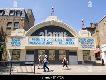 Screen on the Green Cinema Upper Street Islington London - Stock Photo