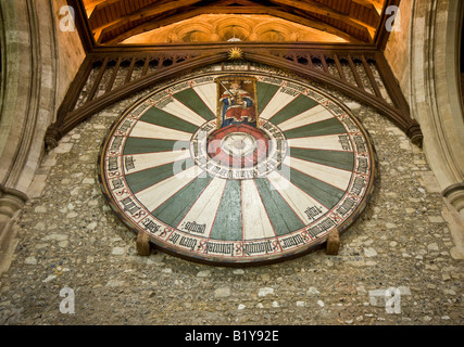 The Round Table, Winchester, UK - Stock Photo
