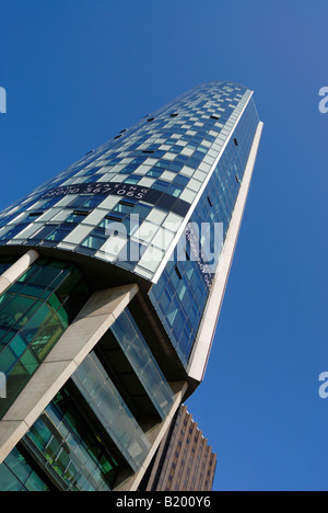 The Beetham Tower West, Liverpools tallest building (2008) at 90 metres 295 feet high. - Stock Photo