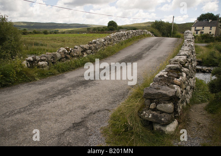 Bridge at Maam, Connemara, County Galway, used in the 1952 film 'The Quiet Man' - Stock Photo