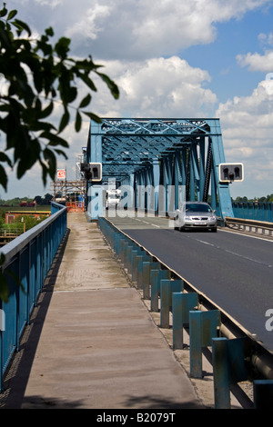 boothferry swing bridge at howden - Stock Photo