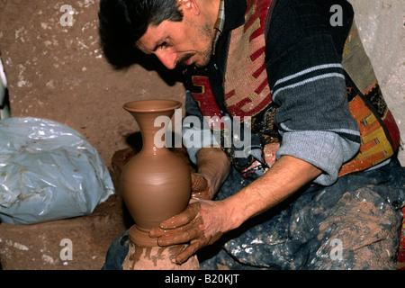 turkey, cappadocia, avanos, pottery - Stock Photo