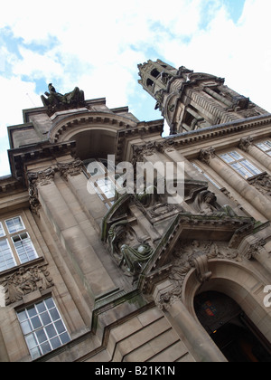 Walsall Town Hall, West Midlands, UK - Stock Photo