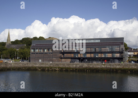 Galeri Victoria Harbour Arts Centre Building Buildings Gallery Visitor Centre Modern Contemporary Architecture Exterior - Stock Photo