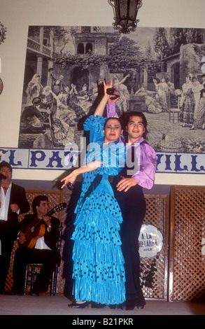 Flamenco Dancers El Patio Sevillano Seville Seville Province
