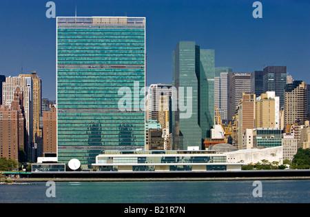 United Nations Headquarters New York - Stock Photo