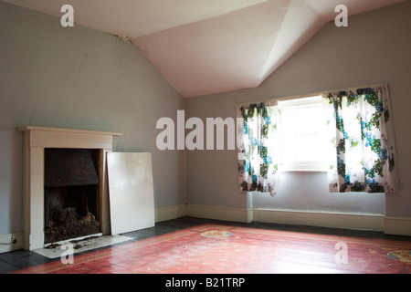 Interior of a Georgian/ Regency house in South East London undergoing renovation, believed to have been built around - Stock Photo