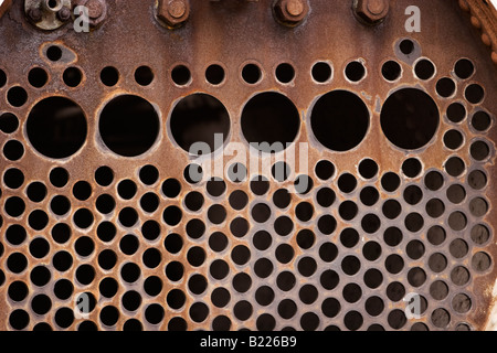 Pipes inside steam engine boiler Stock Photo: 18494937 - Alamy