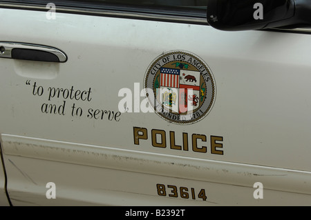 Los Angeles Police Department - Stock Photo