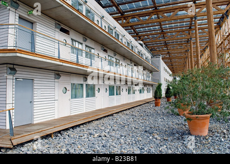 Mont-Cenis Academy, an eco-friendly educational and civic building in Herne, North Rhine-Westphalia, Germany. - Stock Photo