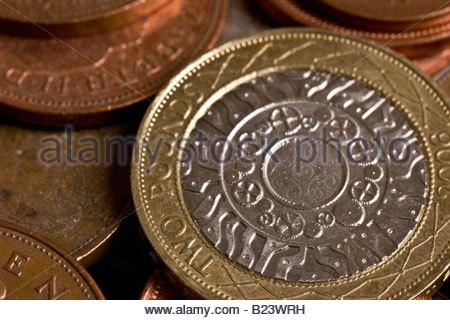 £2 coin, UK.