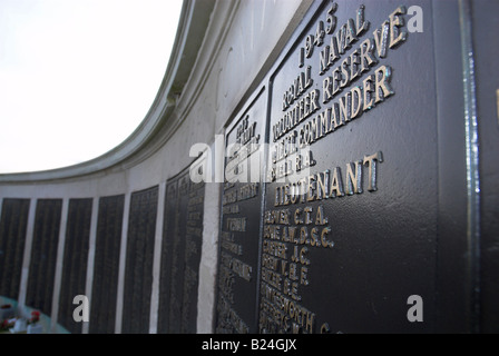 War Memorial On Southsea Seafront Portsmouth - Stock Photo
