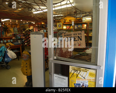 Tourist shop at Fisherman's Wharf in San Francisco, California - Stock Photo
