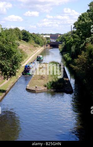 Smethwick New Main Line Canal, Birmingham, West Midlands, England, UK - Stock Photo