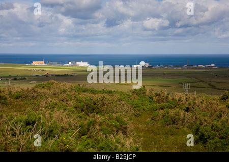 Dounreay Nuclear Power Plant - Stock Photo