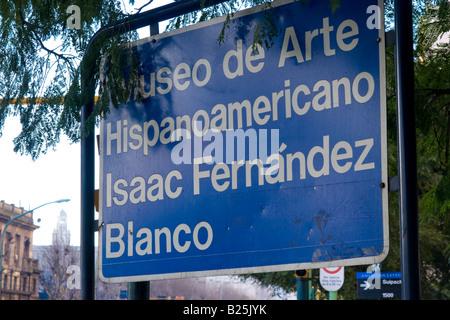 Isaac Fernandez Blanco Museum of Hispanoamerican Art. Avenida Libertador, Buenos Aires, Argentina, South America - Stock Photo