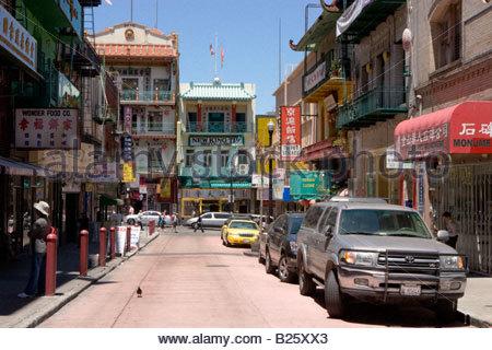 Chinatown San Francisco California - Stock Photo