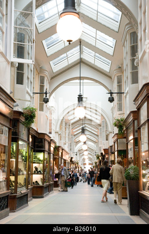 Burlington Arcade Piccadilly London England UK - Stock Photo