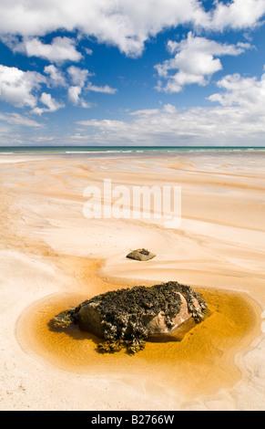 Garry beach on the Isle of Lewis, Hebrides, Scotland, UK - Stock Photo