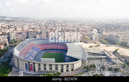 camp nou soccer stadium football - Stock Photo