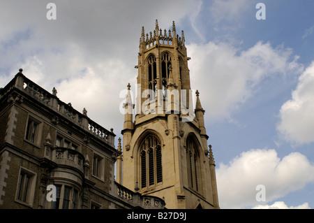 St Dunstan In The West Church on Fleet Street London - Stock Photo