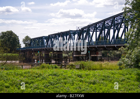boothferry bridge at howden - Stock Photo