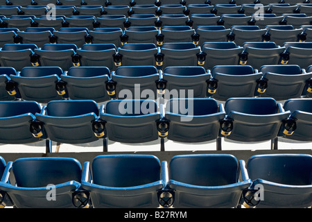 Empty rows of seating - Stock Photo