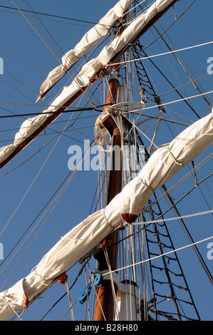 Tall ships Albert Dock Liverpool 2008 - Stock Photo