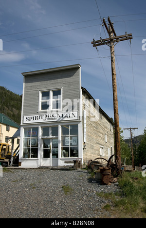 Chitina, Wrangel / St Alias, Alaska, United States - Stock Photo