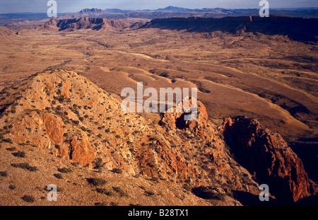 West MacDonnell Ranges, Australia - Stock Photo